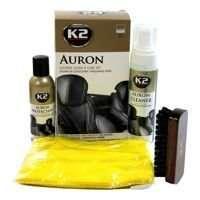 K2 Auron zestaw do czyszczenia i pielęgnacji tapicerki skórzanej