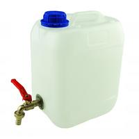 Pojemnik plastikowy na wodę z metalowym kranem 10L