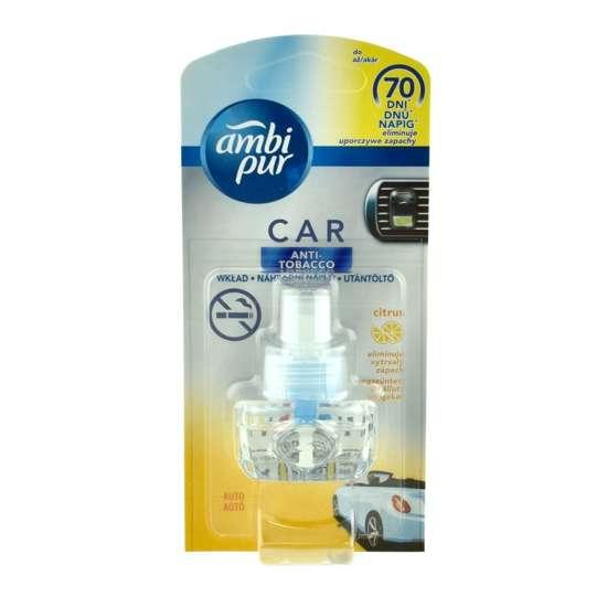 Ambi Pur Car zapach samochodowy Anti Tobacco Citrus - wkład wymienny