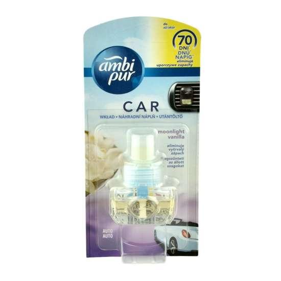 Ambi Pur Car zapach samochodowy Moonlight Wanilia - wkład wymienny