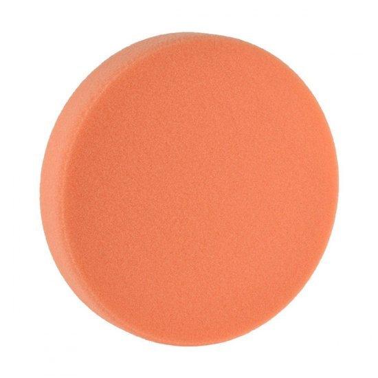 Boll gąbka polerska pomarańczowa średnio twarda na rzep 150/25mm