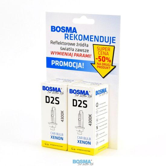 Bosma xenon Duo Pack D2S 85V/35W 4300K - 2szt