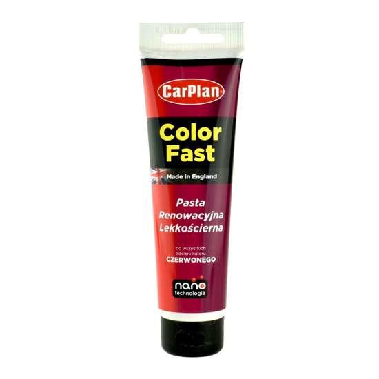 CarPlan T-CUT Color Fast - Nano pasta koloryzująca do usuwania rys Czerwona 150g