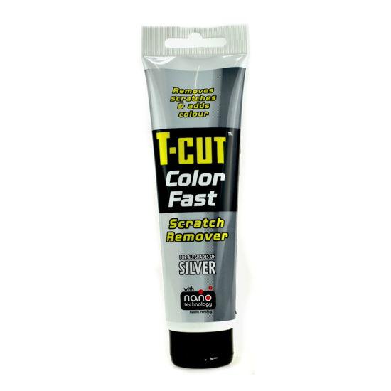 CarPlan T-CUT Color Fast - Nano pasta koloryzująca do usuwania rys Srebrna 150g