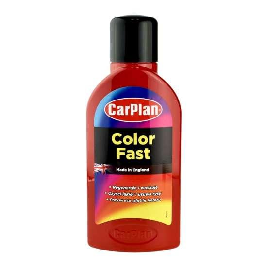 CarPlan T-CUT Color Fast - wosk koloryzujący Czerwony 500ml