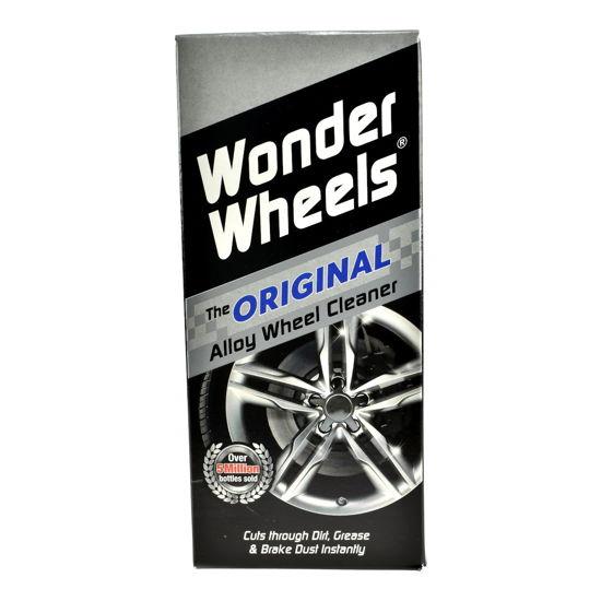 CarPlan Wonder Wheels Zestaw pędzelek + płyn do czyszczenia felg 500ml