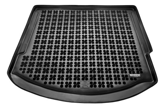Dywanik gumowy bagażnika do samochodu Ford Mondeo IV Kombi wersja z kołem dojazdowym (2007-2014)