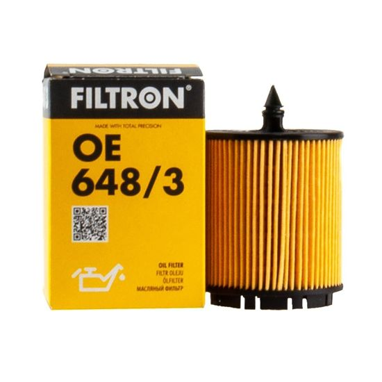 FILTRON filtr oleju OE648/3 - Opel Astra II 2.2
