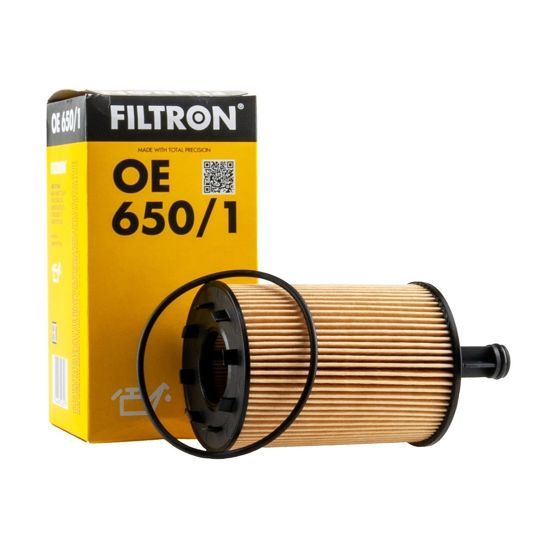 FILTRON filtr oleju OE650/1 - Skoda Fabia 1.9SDI VW, Seat 2.3i V5