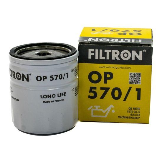 FILTRON filtr oleju OP570/1 - Opel Astra,Corsa,Vectra 04-