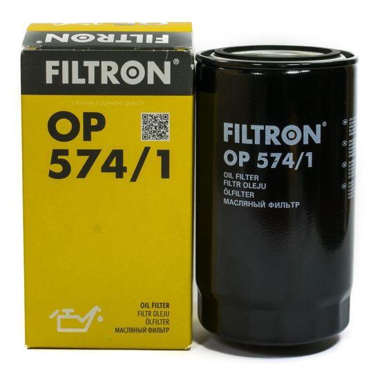 FILTRON filtr oleju OP574/1 - Volkswagen LT28, LT31, LT35 2.7D, Volvo (Trucks)