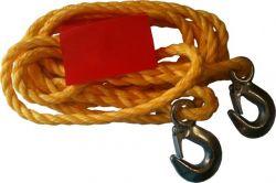 GIT linka holownicza sznur z hakiem 3000kg