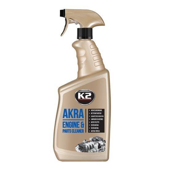 K2 Akra płyn do mycia silnika i części usuwa zabrudzenia 770g