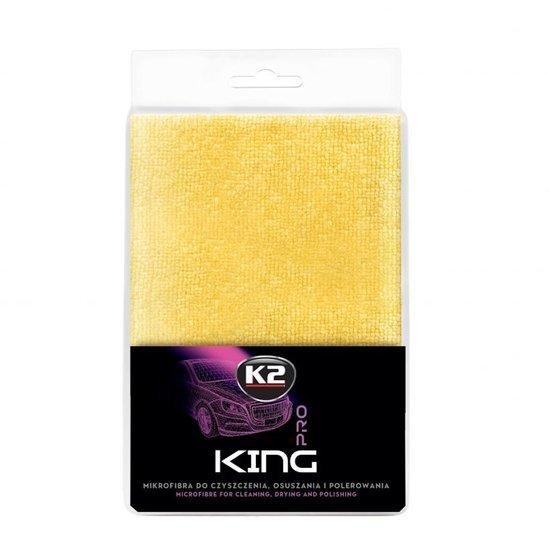K2 King mikrofibra duży i gruby ręcznik do osuszania i polerowania 60 x 40 cm