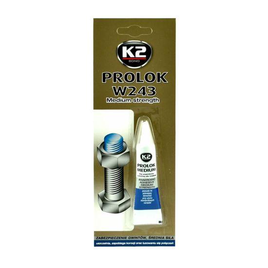 K2 Prolok klej anaerobowy do gwintów o średniej sile - niebieski 6ml