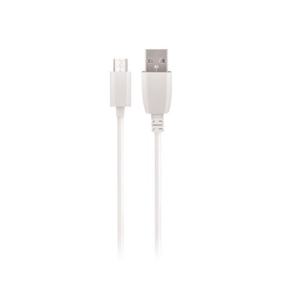 Kabel biały USB Maxlife - microUSB 1,0 m 2A Fast Charge