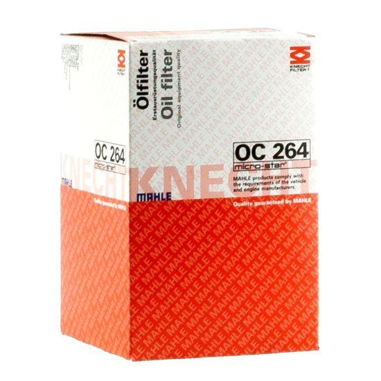 Knecht filtr oleju OC264 - Audi 100 2,6/2,8 V6 90->, VW Corrado 2,0 91->, Passat 96->