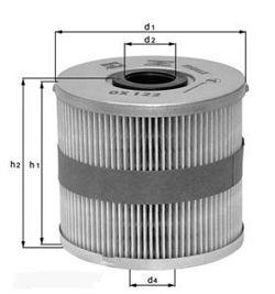 Knecht filtr oleju OX177/3D - BMW 730D E65 10/02-