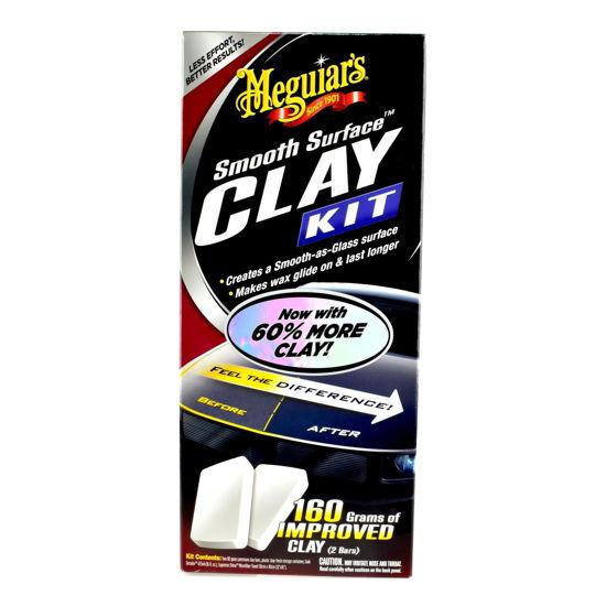 Meguiars Smooth Surface Clay Kit - zestaw do pielęgnacji lakieru z glinką