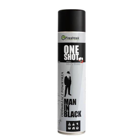 Neutralizator FRESHTEK ONE SHOT Man in Black 600ml
