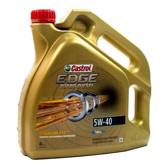 Olej silnikowy Castrol Edge Turbo Diesel FST Titanium 5W/40 4L