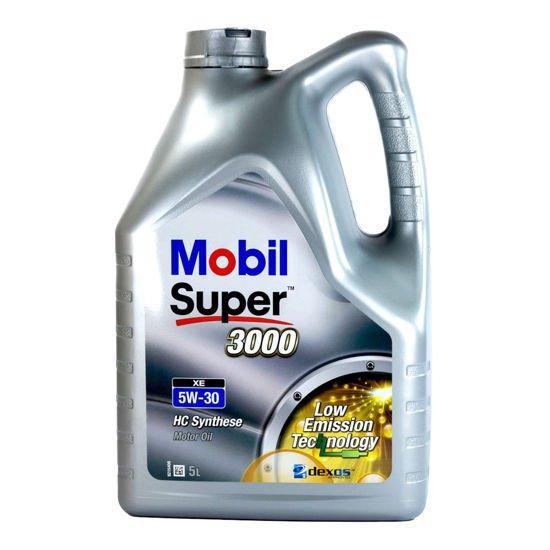 Olej silnikowy Mobil Super 3000 XE 5W/30 5L