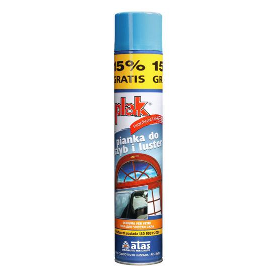 Plak Practical Line pianka do czyszczenia szyb i luster 500ml