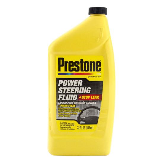 Prestone Power Steering Fluid + Stop Leak - płyn do układu wspomagania z uszczelniaczem 946ml