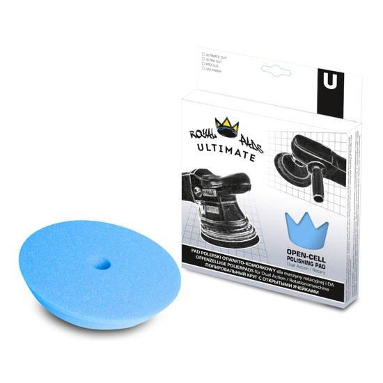 Royal Pads U-Thin UNI Finish miękki pad polerski - niebieski 130mm