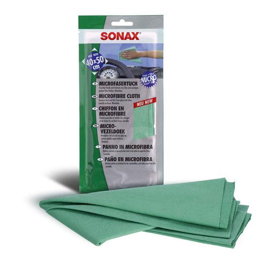 Sonax mikrofibra ściereczka do usuwania kurzu 40 x 50 cm
