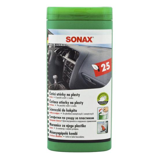 Sonax ściereczki do kokpitu  - opakowanie 25 sztuk