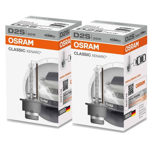 ZESTAW: 2 x D2s Osram Xenarc Classic D2S 35W 4300K