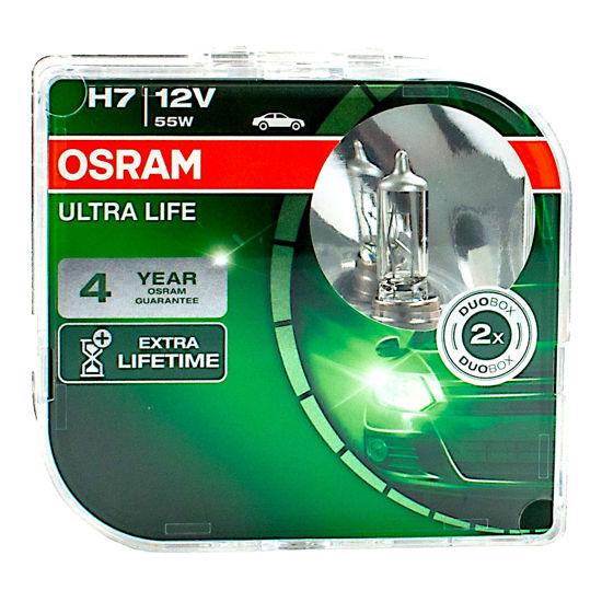 Żarówka samochodowa H7 Osram Ultra Life o wydłużonej żywotności - 2szt