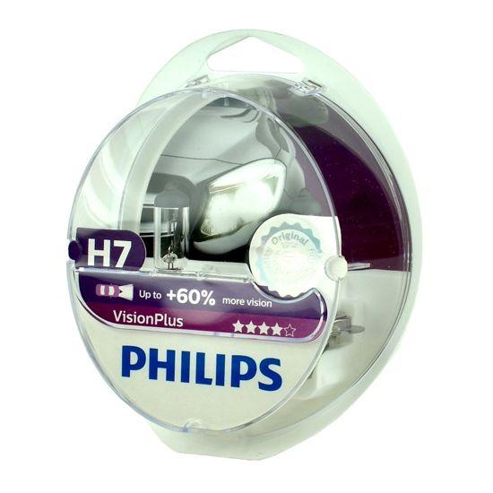 Żarówka samochodowa Philips H7 Vision Plus 60% Box - 2szt