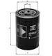 Knecht filtr oleju OC981 - Saab, Skoda